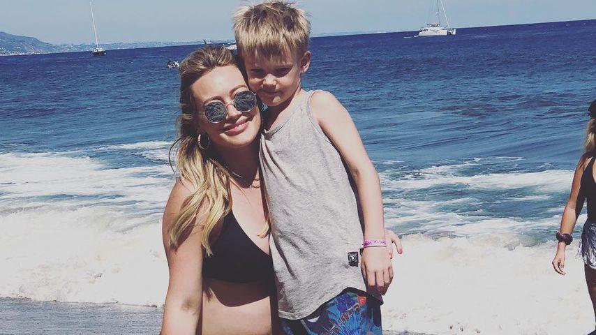 Bald-Mama Hilary Duff: Sohn Luca wollte keine Geschwister!