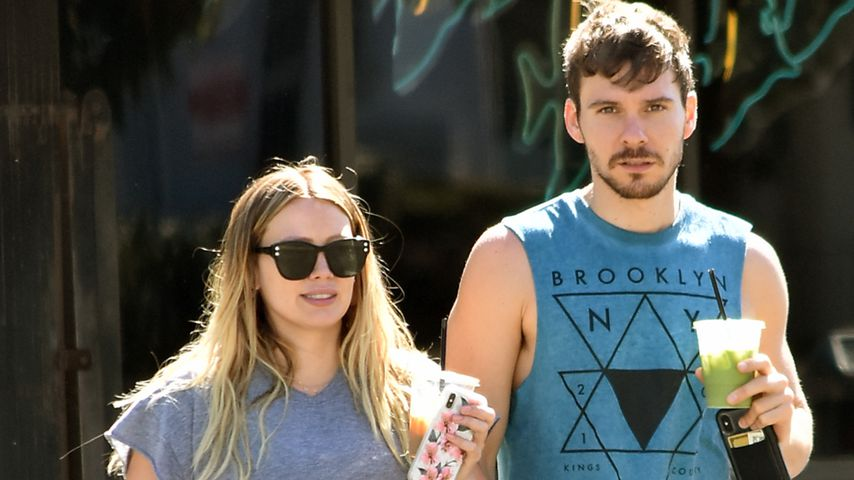 Hilary Duff und ihr Freund Matthew Koma in Los Angeles