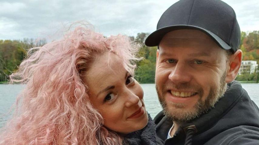 """""""Hochzeit auf den ersten Blick""""-Kandidatin Cindy mit ihrem Mann Alex"""