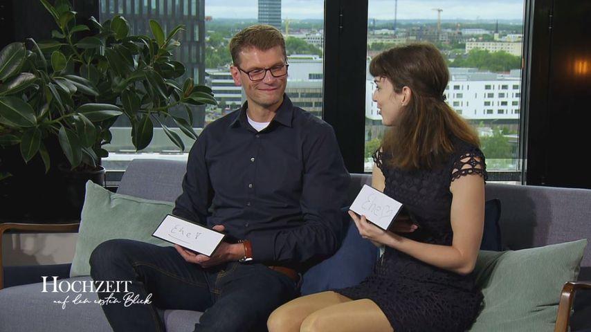 """""""Hochzeit auf den ersten Blick""""-Manuel und Annika"""
