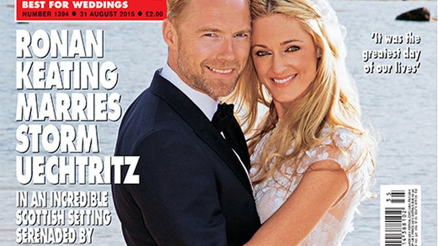 Frisch verheiratet: So schön war Ronan Keatings Braut Storm