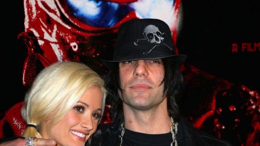 Holly Madison und Chriss Angel