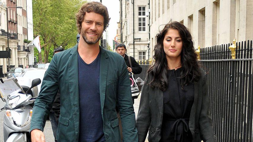 Howard Donald und seine Frau Katie in London, 2012