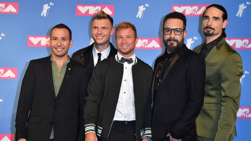 Howie Dorough, Nick Carter, Brian Littrell, A.J. McLean und Kevin Richardson von den Backstreet Boys