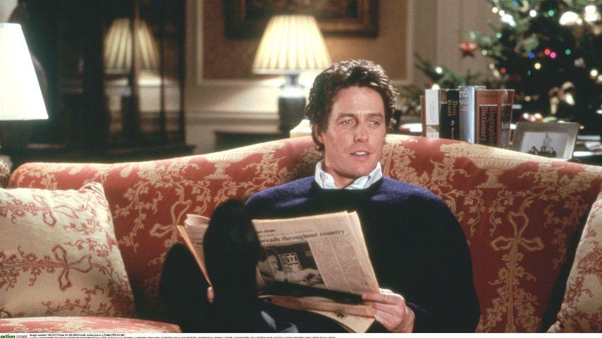 """Hugh Grant als Premierminister David in """"Tatsächlich... Liebe"""""""