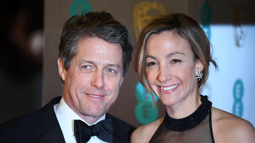 Hugh Grant und Anna Eberstein bei den BAFTA Awards in London
