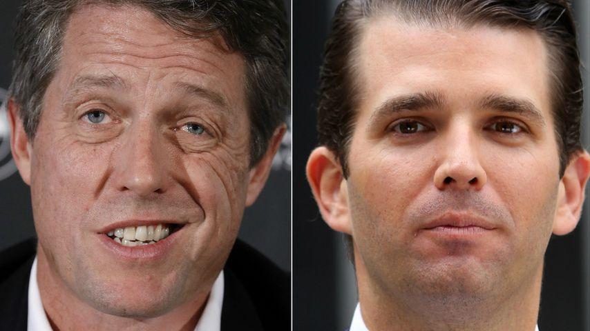 """Wichser"": Hugh Grant beschimpft Donald Trumps Sohn!"
