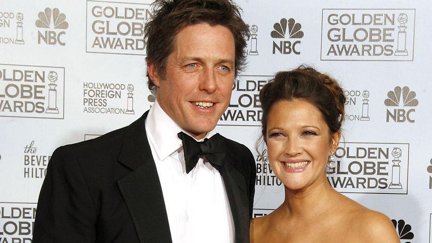 Hugh Grant und Drew Barrymore bei den Golden Globes, 2007