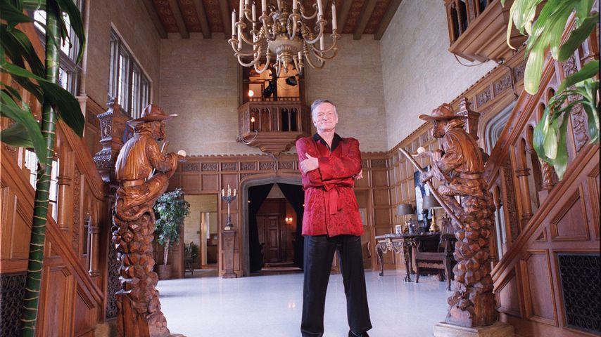 Hugh Hefners Villa: Die Geheimnisse der Playboy Mansion!