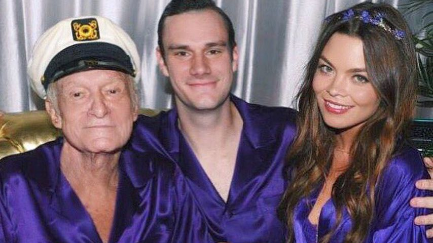 "Hugh Hefner auf seiner ""Midsummer Night's Dream""-Party 2016"