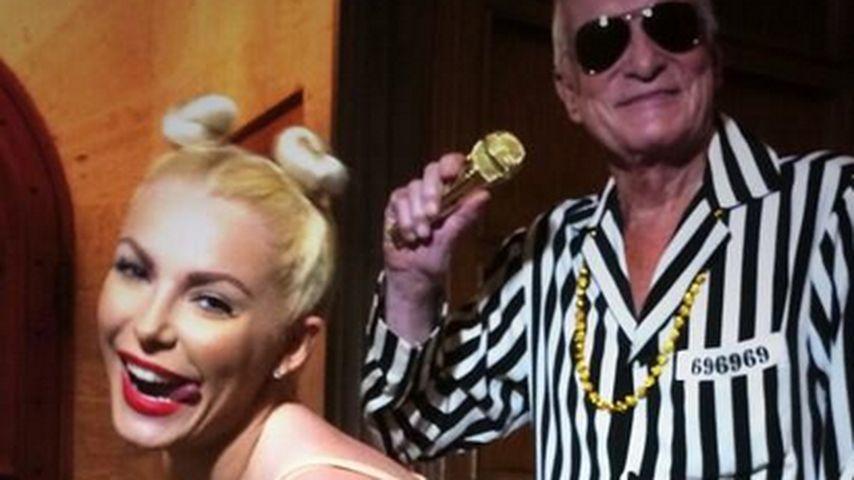 """Wer hat sich hier als """"Miley & Robin"""" verkleidet?"""