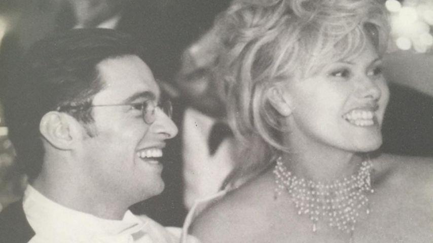 Hugh Jackman und Deborra-Lee Furness an ihrer Hochzeit