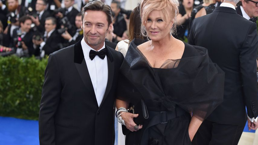 Hugh Jackman und Deborra-Lee Furness im Metropolitan Museum of Art