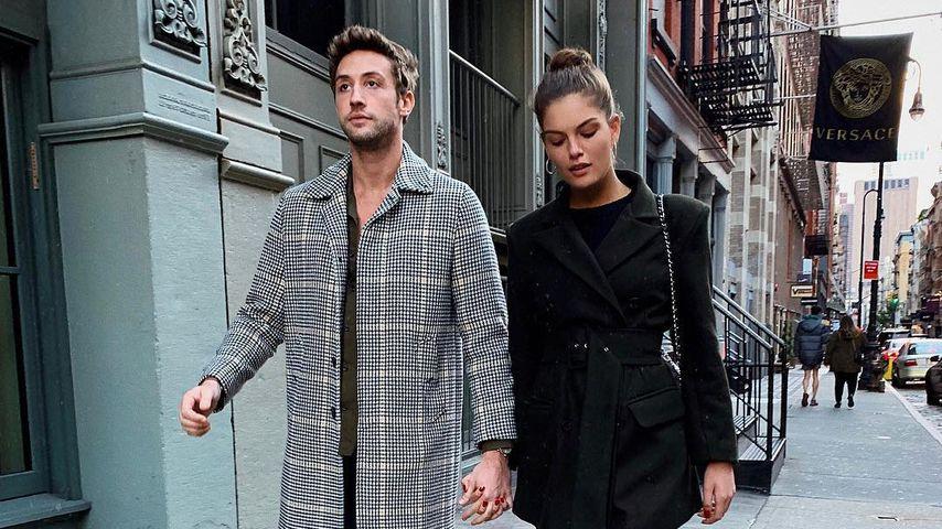 Hugo Chateauvieux und Vanessa Fuchs in Manhattan, New York
