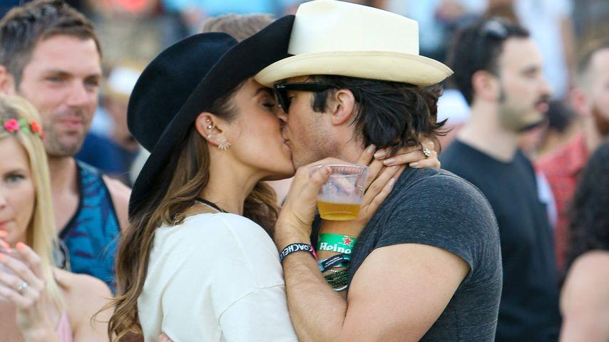 Heiße Coachella-Küsse bei Ian Somerhalder & Nikki Reed