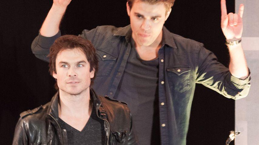 "Endgültiges ""Vampire Diaries""-Aus: So reagieren Ian & Paul!"