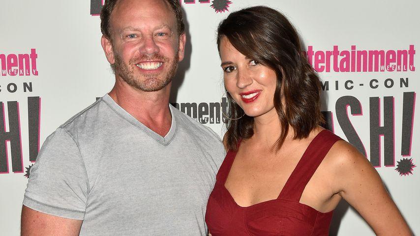 Ian Ziering und seine Ehefrau Erin in San Diego