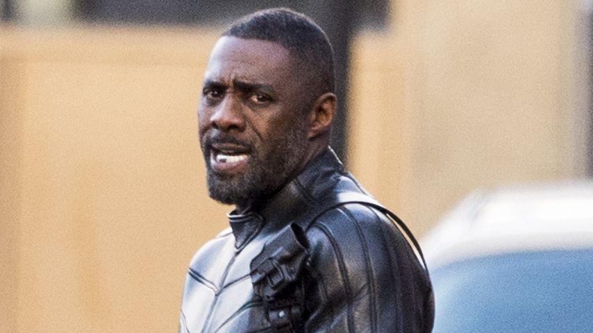 Idris Elba in Glasgow