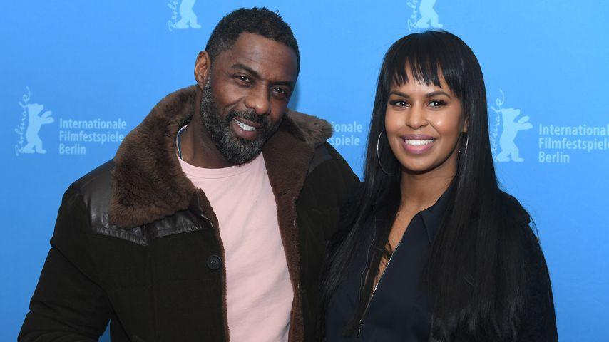 Idris Elba und Sabrina Dhowre auf der 68. Berlinale