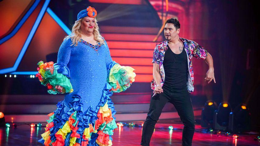 """Ilka Bessin und Erich Klann bei """"Let's Dance"""" 2020"""