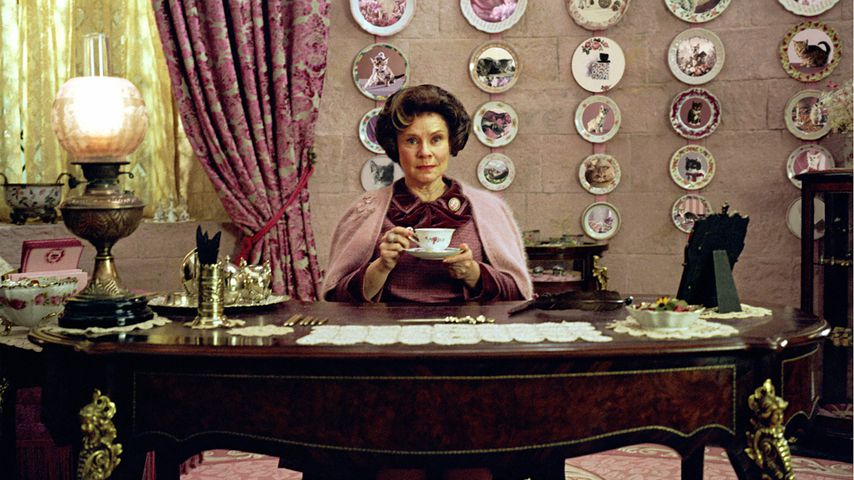 """Imelda Staunton als Dolores Umbridge in """"Harry Potter und der Orden des Phönix"""""""