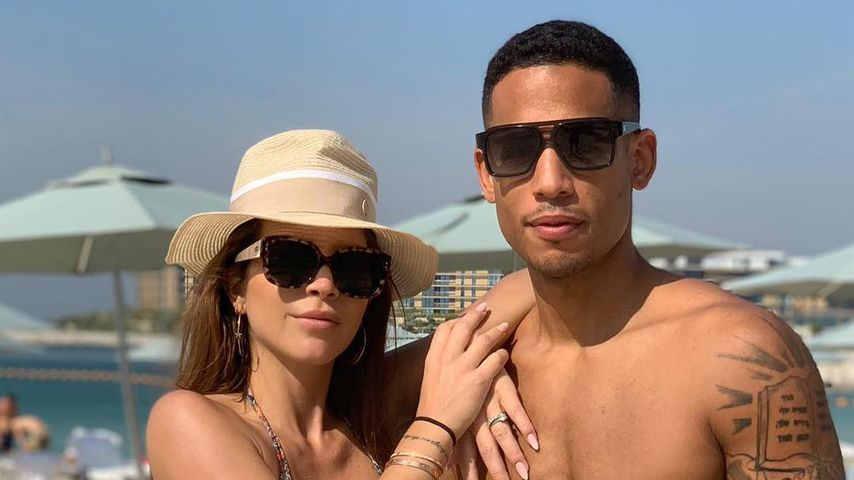 Ina und Dennia Aogo in Dubai, Dezember 2018