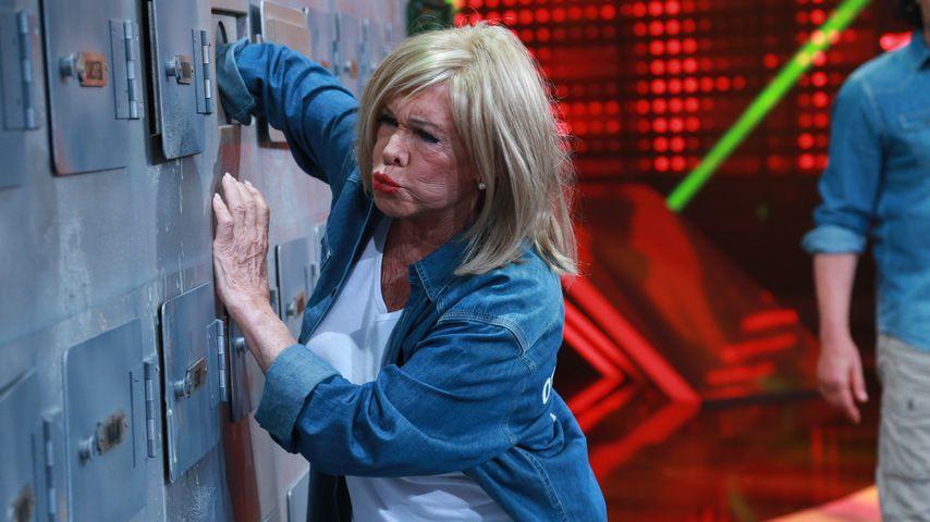 """Ingrid van Bergen bei """"Ich bin ein Star - Lasst mich wieder rein"""" in Hürth im August 2015"""