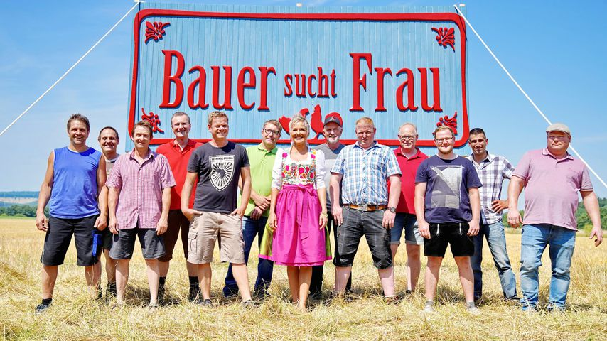 """Inka Bause und die """"Bauer sucht Frau""""-Kandidaten 2018"""