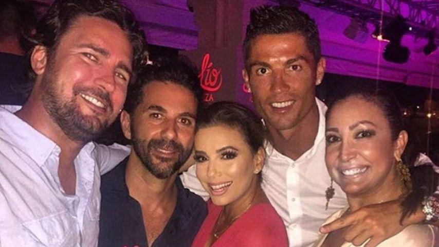 Wow! Cristiano Ronaldo & Eva Longoria sind befreundet