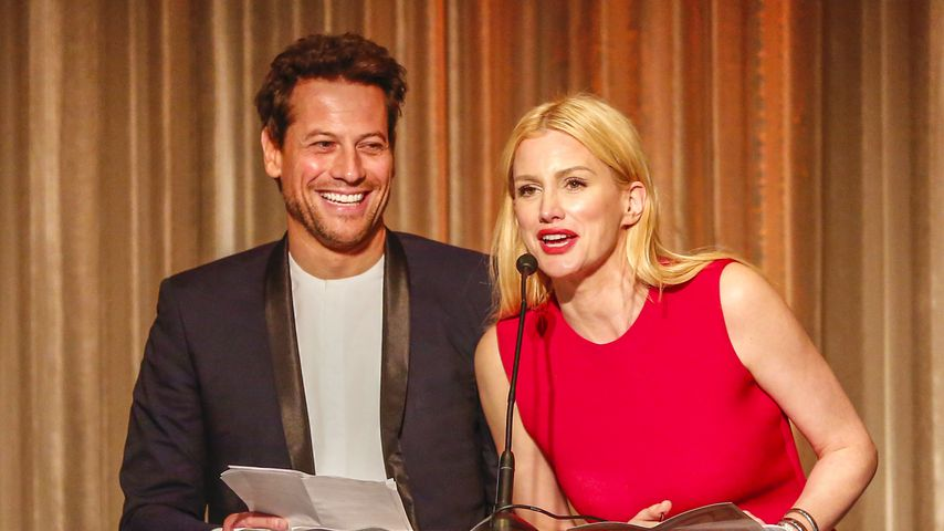 Ioan Gruffudd und Alice Evans bei dem Event Path2Parenthood – Illuminations LA, 2016