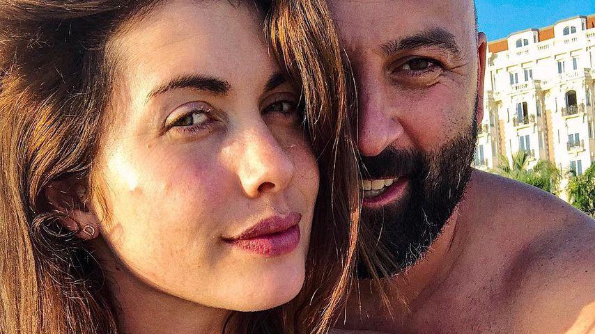 Ira Meindl mit ihrem Mann Deniz und ihrer Tochter