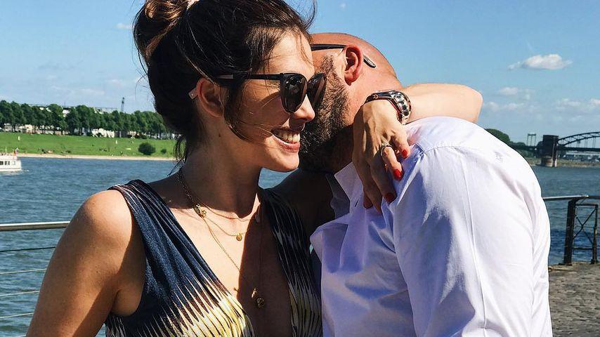 Schwangere Ira Meindl: SO gratuliert sie Mann zum Vatertag!