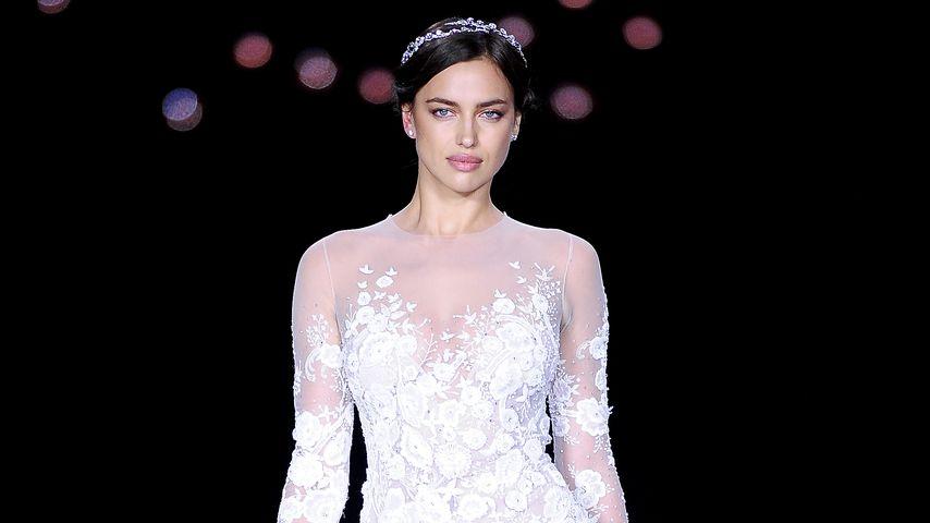 Sexy Braut: Hier übt Irina Shayk für Hochzeit mit Bradley