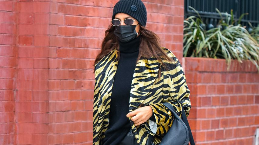 Wilder Tiger: So flaniert Model Irina Shayk durch New York