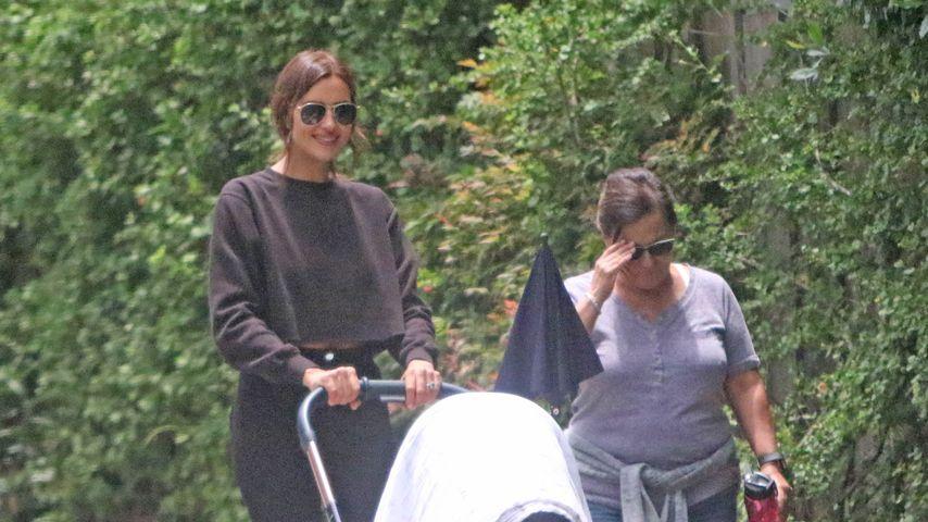 1. Fotos mit Baby: Irina Shayk mit Tochter Lea unterwegs