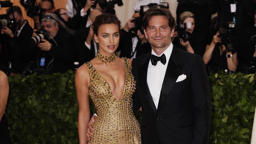 Irina Shayk und Bradley Cooper im Mai 2018 bei der Met-Gala in New York