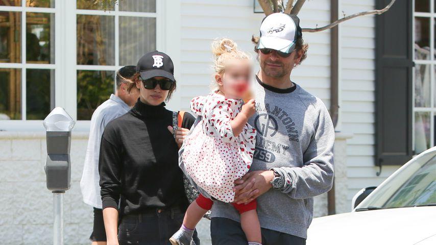 Irina Shayk und Bradley Cooper mit ihrer Tochter Lea
