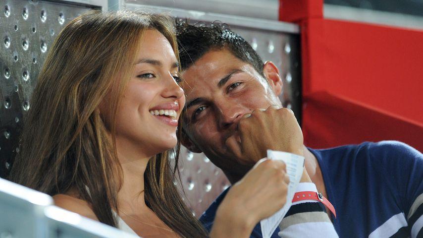 Irina Shayk und Cristiano Ronaldo im August 2010
