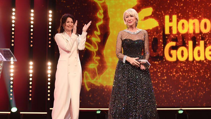 Iris Berben und Helen Mirren bei der Berlinale 2020