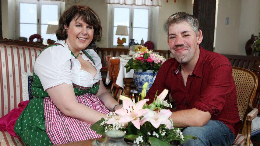 """Iris und Uwe Abel beim """"Bauer sucht Frau""""-Scheunenfest 2011"""