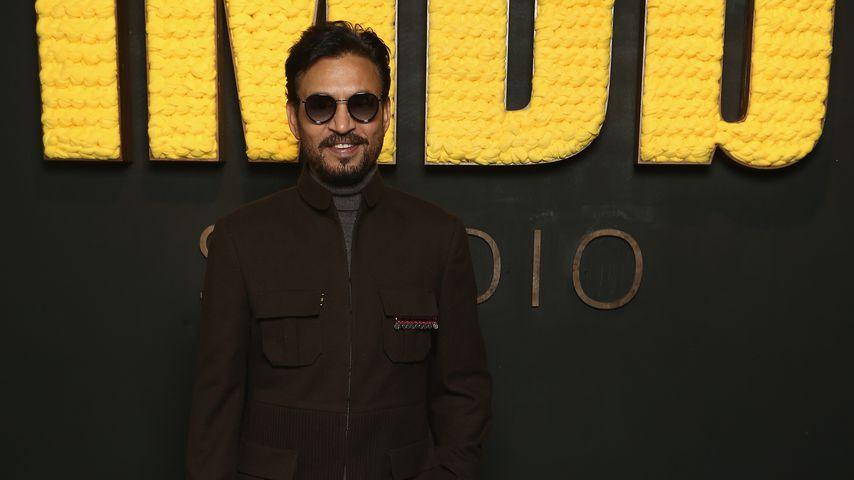 Irrfan Khan in den IMDb Studios in Park City
