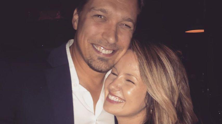 Isaac Hanson mit seiner Frau Nicole