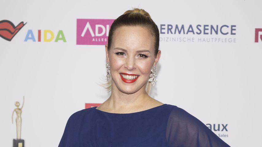 """Isabel Edvardsson auf dem """"Goldene Bild der Frau""""-Event"""