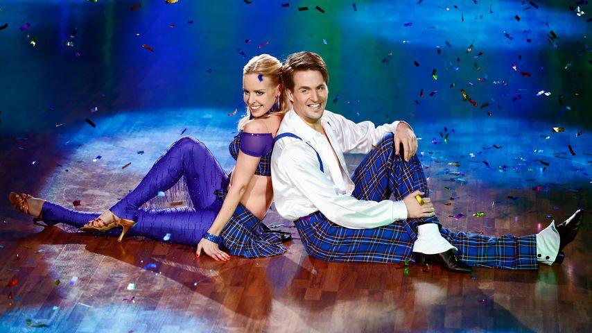 """Isabel Edvardsson und Alexander Klaws bei """"Let's Dance"""" 2014"""