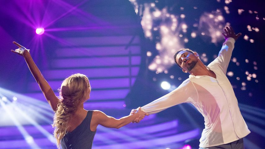 """Isabel Edvardsson und Benjamin Piwko während der neunten Folge von """"Let's Dance"""""""