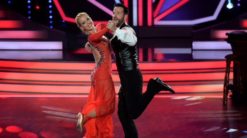 "Isabel Edvardsson und Michael Wendler bei ""Let's Dance"" 2016"