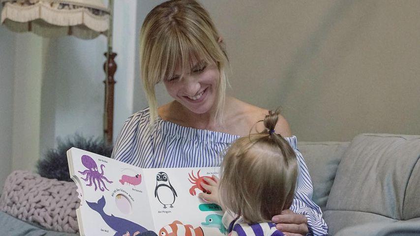 Riesen-Sauerei: So bringt Isabell Horn Tochter zum Lachen!