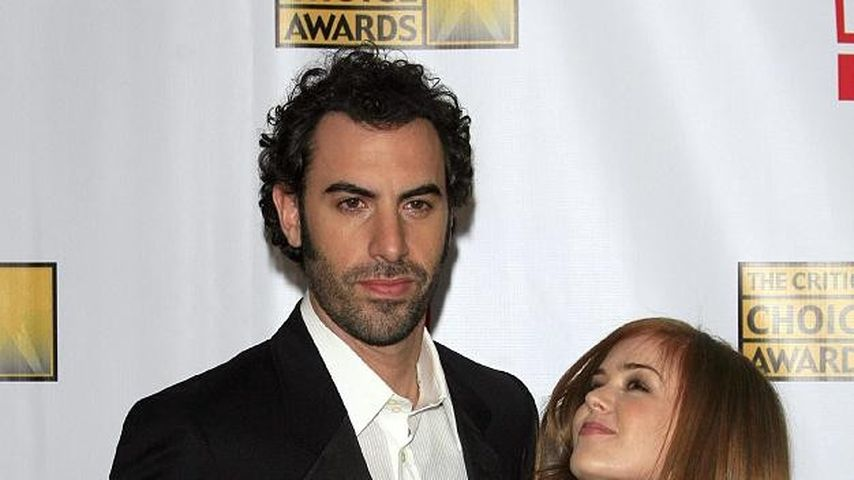 Sacha Baron Cohen und Isla Fisher