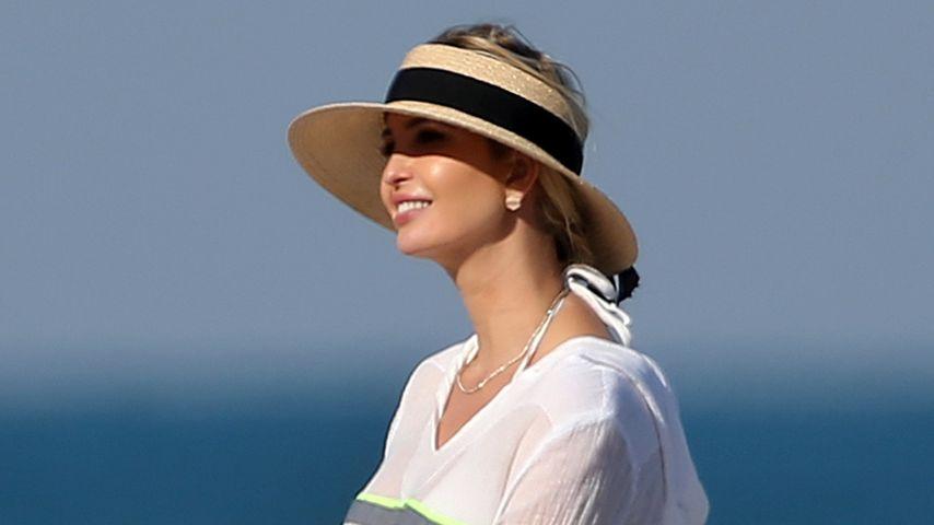 Mit ihrem Mann: Ivanka Trump entspannt am Strand