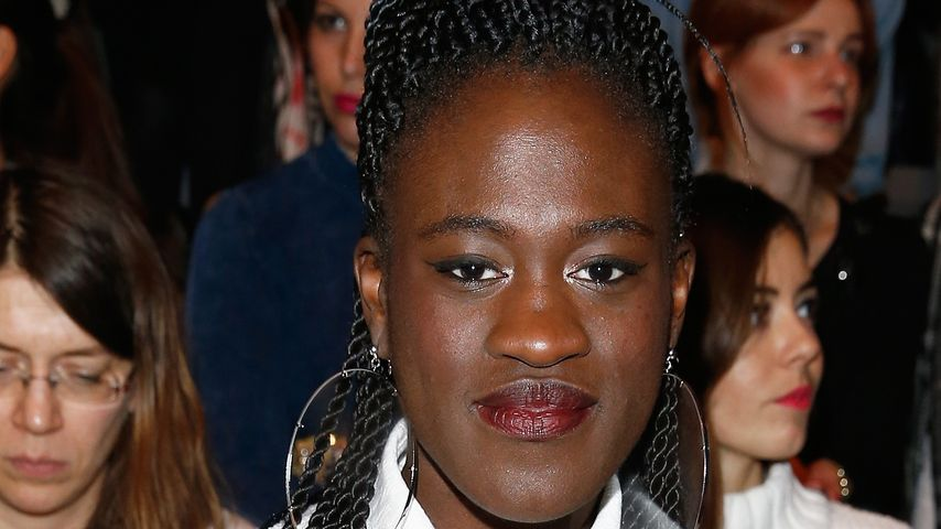 Ivy Quainoo bei der Mercedes-Benz Fashion Week Berlin Autumn/Winter 2015/16